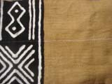 A Bogolan style cloth sample